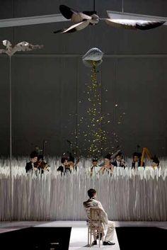 "La Monnaie, Bruxelles - ""Giulio Cesare in Egitto"" by G. F. Handel - Conductor: René Jacobs, Director, Set Designer, Costume Designer, Lighting Designer: Karl-Ernst Herrmann, Director: Ursel Herrmann"