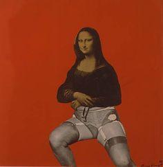 Mona Lisa Red - Jimmy Ernst, 1970