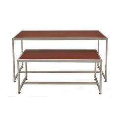 Nesting Tables Retail | Retail Display Tables Set Of 2 For Boutiques U0026  Retail Stores Subastral