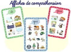 Affiches de compréhension Taoki French Education, Comprehension, Games For Kids, Teaching, This Or That Questions, Comics, School, Cycle 2, Reiki