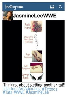 """""""Jasmine wanting more tattoos"""" by dani-loves-wwe-music ❤ liked on Polyvore featuring art"""