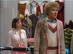 The Sixth Doctor and Peri - The Twin Dilemma