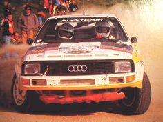 Audi Quattro Sport rally car - Group B