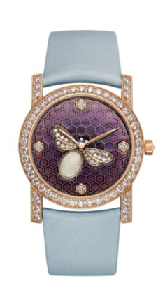 Chaumet Attrape-moi… si tu m'aimes watch with pink gold and diamonds