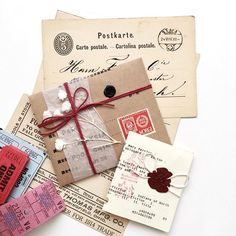Peek №③ at @sjwsun mail. Those delicate packages... She is such a detail person!
