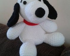 Amigurumi Patterns Snoopy : Pdf crochet pattern snoopy and woodstock inspired amigurumi snoopy