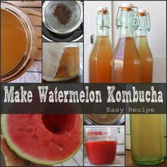 Do you know what a kombucha is? It\'s a fermented tea typically consumed for medicinal purposes. One type of kombucha that\'s becoming quite popular among health buffs and naturalists is the watermelon kombucha. Watermelon is highly nutritious, offering num