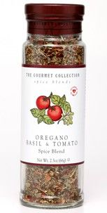 Dangold Gourmet Collection Oregano, Basil, Tomato spice blend