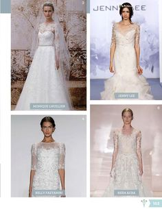 Winter Wedding Fashion | WeddingWire WINTERBOOK 2013