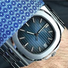 That dial Patek Philippe Nautilus 5711 by @watchbryan by watchfm