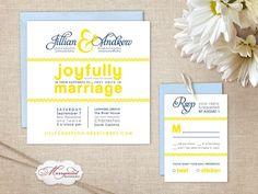 Modern wedding-invitations