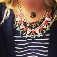 Starting to convince myself that I need the new Fanella necklace...stella & dot 2014 Fall collection. Get it here! Stelladot.com/sites/kkenagy