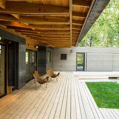 Wraparound room - Great Deck Ideas - Sunset