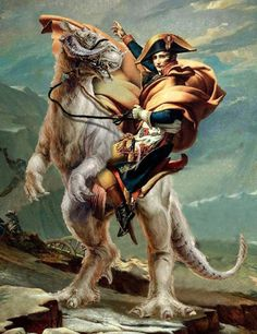 Napoleon on a Tauntaun Star Wars Art, Star Trek, Geek Culture, Pop Culture, Fighting Robots, Star Wars Humor, Love Stars, Far Away, Disney Pixar