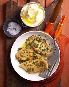 Spicy Chicken With Mashed Potato // Pikáns csirkeszeletek krumplipürével / Éva Magazin