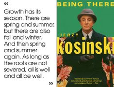 Being There by Jerzy Kosinski | 46 Brilliant Short Novels You Can Read In A Day