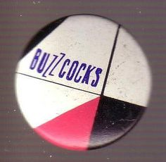 Metal Button - Buzzcocks