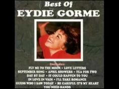 rom 1963 - Eydie Gorme - 'Blame It On The Bossa Nova' - a solo hit for Eydie (both she and Steve sang as a duo but each had a # of solo hits as well).