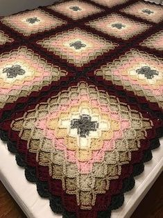 [Free Pattern] Bavarian Crochet Baby Blanket: Download free pattern and visit video tutorial! #bavarianstitch #crochet #stitch #crochetaddict