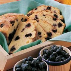 Blueberry Loaf Cake Recipe