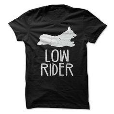 Low Rider Corgi T-Shirts, Hoodies. SHOPPING NOW ==► https://www.sunfrog.com/Pets/Low-Rider-Corgi.html?id=41382