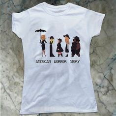 American Horror Story Coven TV Show WITCH PARADE Adult T-Shirt All Sizes