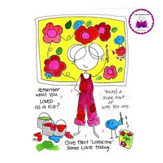 BLOG. Inspiration, beauty, kindness, support and soul encouragement in cartoon…