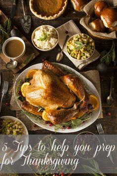 5 Tips to help you prep for Thanksgiving #15MinReno #PGMomGiveaway