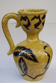 Jean Lurçat, pitcher, 36cm high, circa 1950