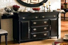 Click Image Above To Purchase Aspen Home Young Clics Server Martie Fern Vicoso Decoration Ideas