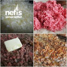 Tam Ölçülü İçli Köfte - Nefis Yemek Tarifleri - #3357733 Merida, Food Presentation, Iftar, How To Dry Basil, Herbs, Food And Drink, Chicken, Tiramisu, Jewelery