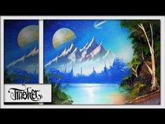 Spray Paint art Advanced Nature Scene by Trasher