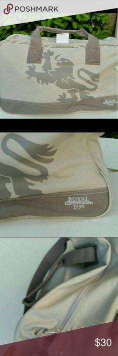 Royal copenhagen gym bag. New.  Never used.   Royal copenhagen gym bag for men/woman. Copenhagen  Bags Totes