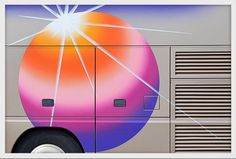Taylor Holland's curious collection of tour bus graphics provides a welcome start to the week Design Observer, Creators Project, Mobile Art, Antique Frames, American Artists, Holland, Art Photography, Table Lamp, Colour