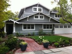 Traditional Exterior Photos Craftsman Exterior Design Ideas, Pictures, Remodel, and Decor - page 42