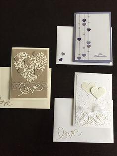 Stampin'Up - Love - Hochzeit - Herz