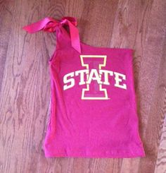 t shirt cutting ideas | The Hansen Family: It's tailgating time! Cute T-shirt how-to