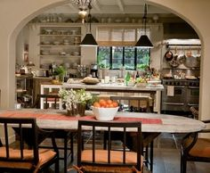 """Whitehaven: """"It's Complicated"""" Kitchen (and other rooms)"""