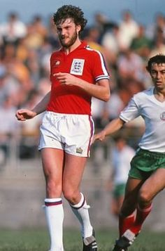 Glenn Hoddle England U21 1979