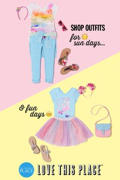 Whether it's a look for sun days or fun days, we know she loves to stay in style. From birthday outfits to play-day outfits, click to find what your little fashionista loves!