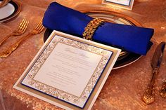 Wedding Color Gold - Wedding Color Silver | Wedding Planning, Ideas & Etiquette | Bridal Guide Magazine (have a special letter to friends and family at each of their seats)