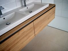Aluminium, Double Vanity, Bathroom, Design, Home, Gallery, Image, Home And Garden, Oak Tree