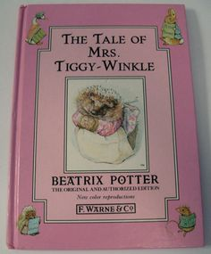 Beatrix Potter The Tale of Mrs TiggyWinkle by ClosetFull on Etsy, $4.00