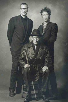 Robert Wilson, Tom Waits William S Burroughs