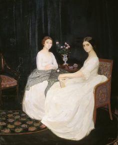 Savely Sorin (1887-1953) Russian Portrait Painter ~ Blog of an Art Admirer