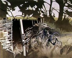 Decrepit Essex Bicycles (w/c on paper) Wall Art & Canvas Prints by Miles Thistlethwaite Paper Wall Art, Pastel, Canvas Prints, Watercolor, Bicycles, Artist, Beautiful, Amp, Oil On Canvas