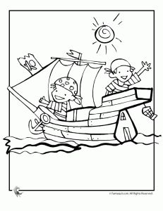 pirate ship coloring sheet pdf  Quilts  Pinterest  Pirate ships