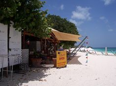 Uncle Ernie's Beach Bar Anguilla, the best ribs and coleslaw, not to mention the view!