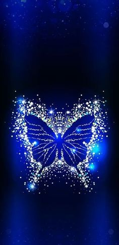 Wallpaper for all mobiles Blue Butterfly Wallpaper, Cute Galaxy Wallpaper, Anime Wallpaper Phone, Cute Wallpaper Backgrounds, Wallpaper Iphone Cute, Love Wallpaper, Pretty Wallpapers, Cellphone Wallpaper, Colorful Wallpaper