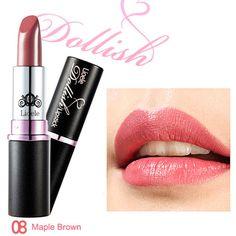 Lioele Dollish Lipstick 8 Maple Brown - L-p-101 - Lioele Lip Makeup - Lioele Point Makeup - Korean